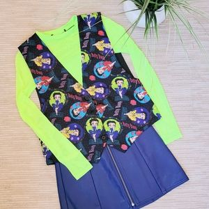 💚 Vintage Betty Boop Colorful Vest 💚